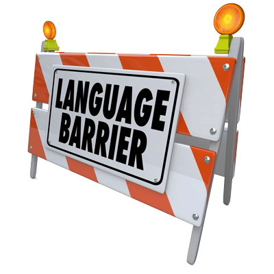 Langage-Barrier