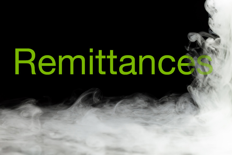 clearing the air  remittance transfers